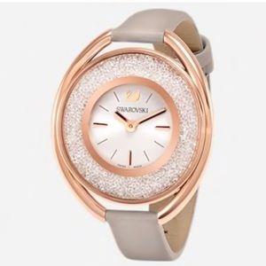 Authentic Swarovski Crystalline Rose Gold Watch